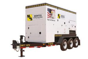 Montco Oilfield Solutions 300kW generator